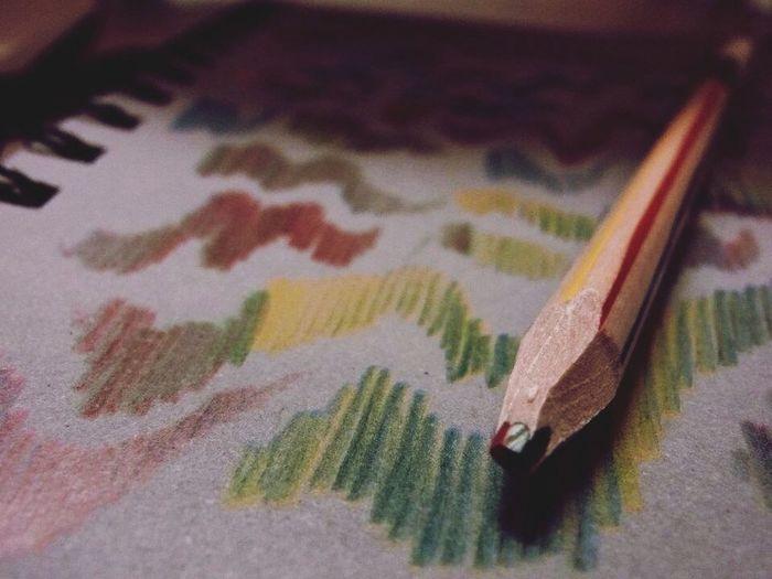 multicolor pencil