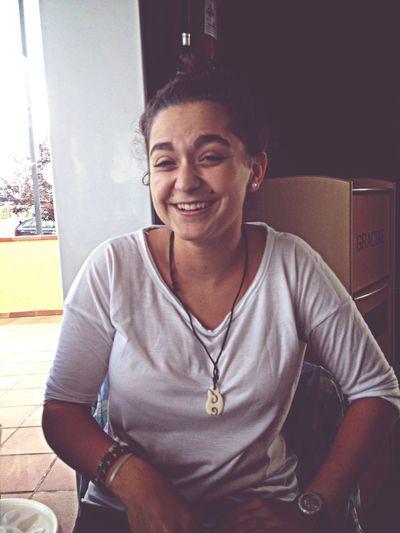 La sonrisa es la mejor medicina. Friend beauty Beautifulday First Eyeem Photo