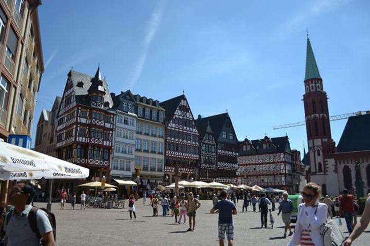 Walking Around The City  Summerfeeling Deutschland GERMANY🇩🇪DEUTSCHERLAND@ Germany Blue Sky Blauer Himmel