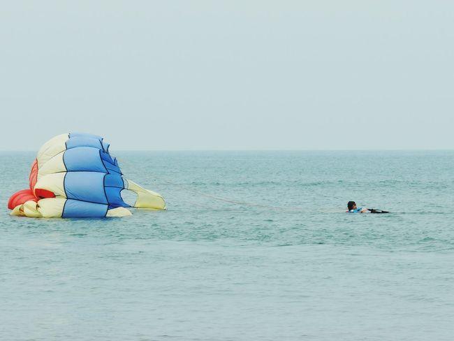 landing INDONESIA Indonesia_allshots EyeEm Indonesia Indonesia_photography Anyer  Anyerbeach Pantai Anyer Anyer Beach Anyer <3 Parasailing Parasail