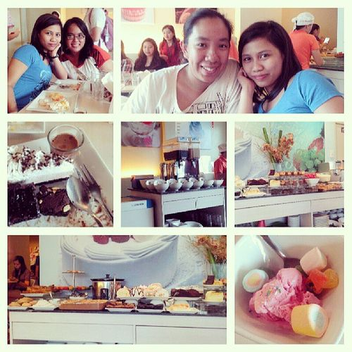 Unlimied desserts to Unlimited kwentuhan <3 Unlimited Desserts SugarRush Kwentuhan friends bonding