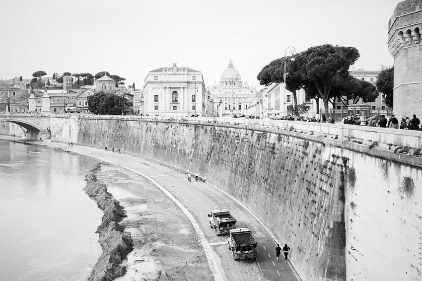 On the other side // Priimephoto Priime Monochrome Blackandwhite Black & White Streetphotography Fuji X100s FUJIFILM X100S X100S Vatican City