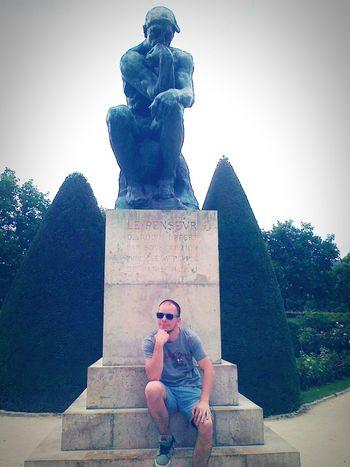 Philosopher Rodin Paris Thinker France Polishboy