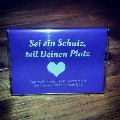 Sei  Ein Schatz , Teil deinen platz sweet coffee