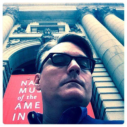 NMAI NYC Selfie defiance! Musuem