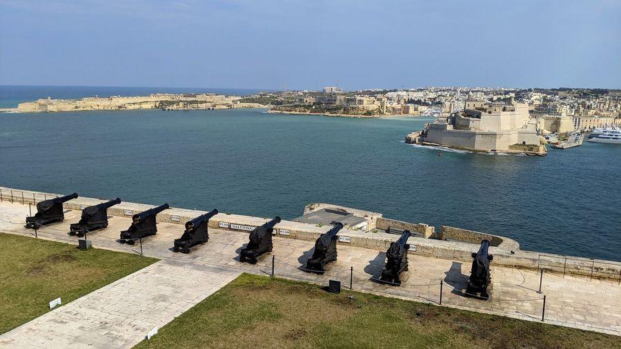 Malta cannons.