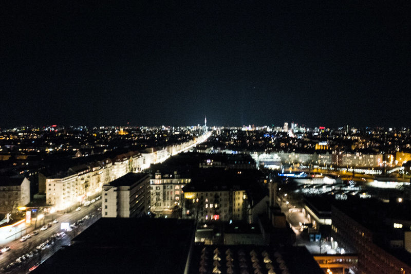 Night Illuminated Cityscape City Architecture Building Exterior Sky No People Urban Skyline