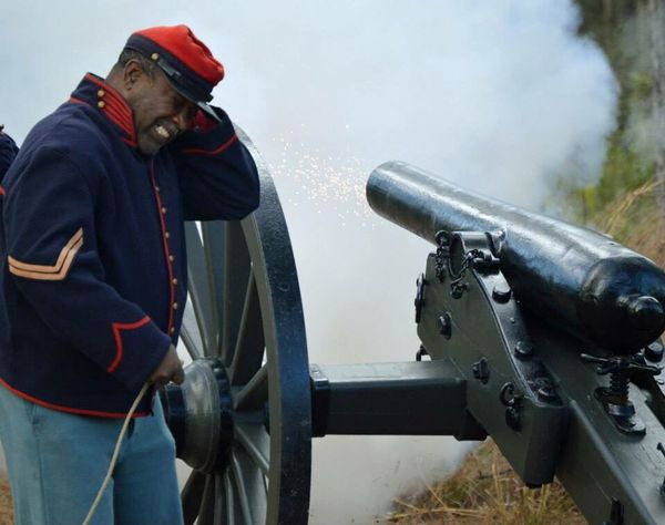 Canon Fire - Weapon People One Person Outdoors Day Civil War Remember Fight War Reinactment Fire Away Canon BOOM! Cool In The Moment Cover Your Ears Loud American Fight For A Cause Civil War Re-enactments Fun Exciting Remember The Fallen One Man Only Adult