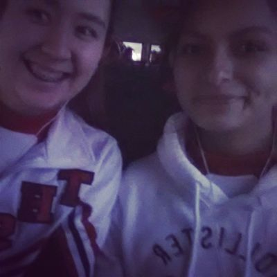 off to cheer our hearts out with my fave cheerleader♡ Gotoros !