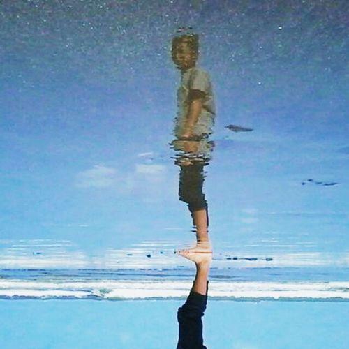 Mirror That's Me Enjoying Life