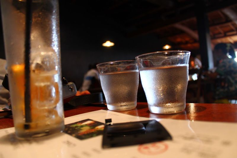 at miyajima Close-up Drink Table Drinking Glass No People Day Cafe Hirosima Summer