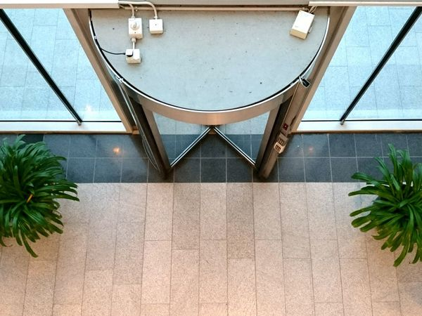 Some places are harder to clean than others Office Building Office Space Entrance Lookingdown Marievik