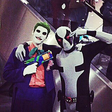 Косплей комик кон EyeEm Gallery Taking Photos Eye4photography  джокер Cosplayer Cosplay Comiccon2015 Joker