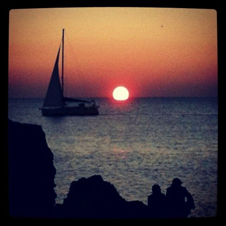Sunset Instaitalia Instapic Cecina  toscana sea mare