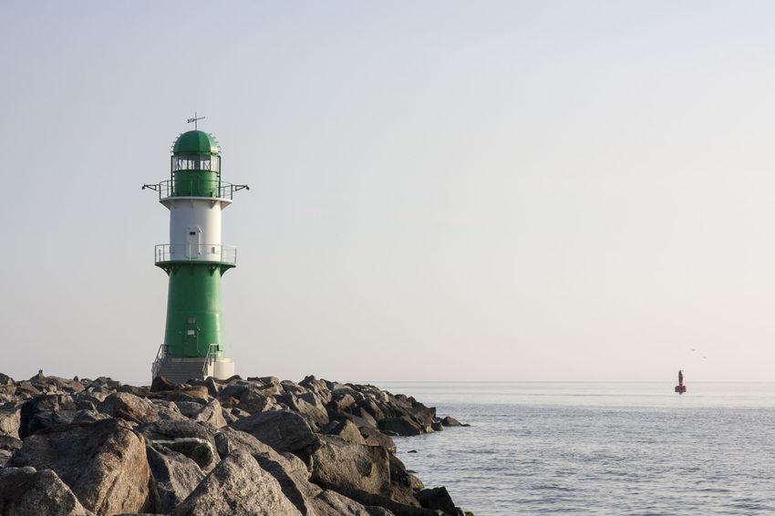 Baltic Sea Briefly After Sunrise Calm Sea Die Schönheit Des Nordens Die Stadt Am Meer Early In The Morning Hansestadt Hansestadt Rostock Lighthouse Marítim Norddeutschland Rostock Rostocker Ansichten