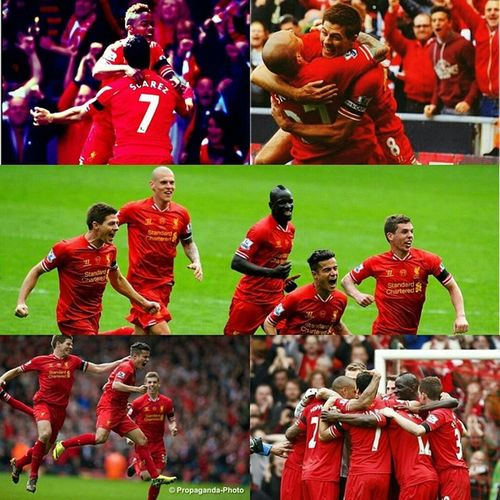 This is the longest 90 mins I have ever watched. So much ups and downs throughout. Seeing gerrard in tears at the end makes me so emotional. 4 more cup finals to go! We can do it. After all we are Liverpool. YNWA MakeUsDream 10gameswinningstreak Proudtobealiverpoolfan P.S i swear my whole block is full of liverpool fans judging by the noise level of shouts just now