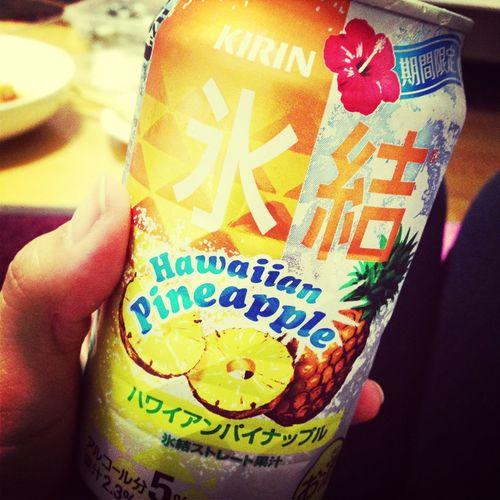 i love this season. i love this fravor!!! Chu-hai Pineapple