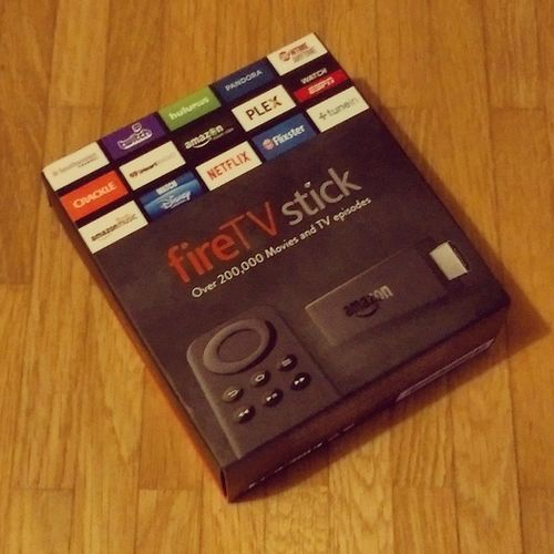 I might be late for the American party but still early in Europe: Amazon Fire TV Stick in the house! ? Amazon Firetv FireTVStick Ott VoD SVoD TVoD