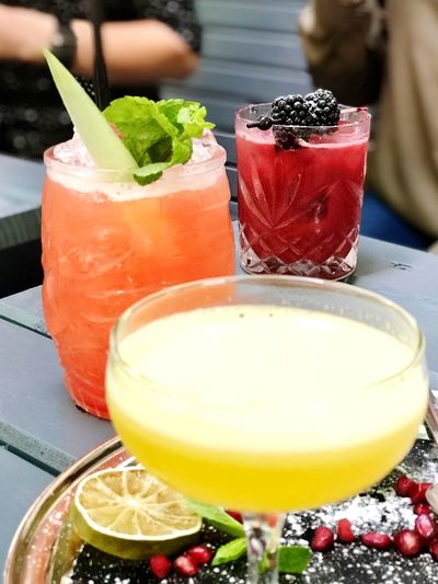 Food Freshness Alcohol Drinking Glass Cocktail Citrus Fruit Berry Fruit Wellbeing