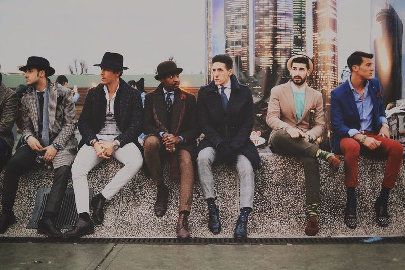The Gang Open Edit GoodFellas IMP At Pitti Uomo 87 Streetphotography Streetfashion Fashion Streetportrait The EyeEm Facebook Cover Challenge The Fashionist - 2015 EyeEm Awards