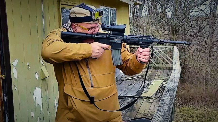 Shooting Marksman Weapon Target Shooting Rifle Outdoors Showcase: February Woods