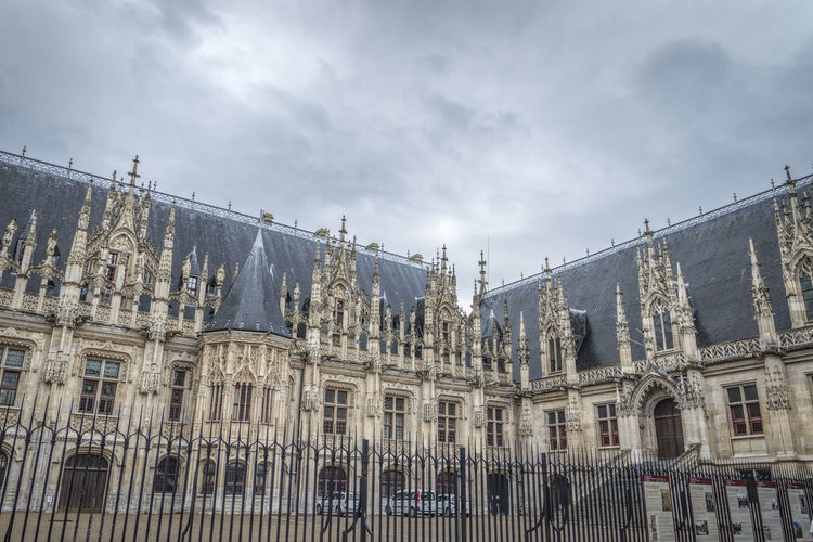 Rouen Court Of Appeal Against Cloudy Sky