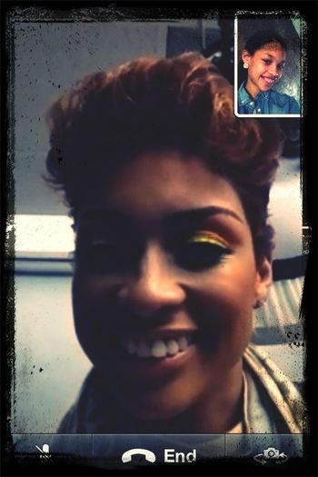 Me And My Mom On Facetime