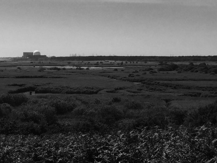 Nuclear Power Plant Black And White Sizewell