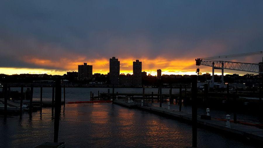 Hudsonriver Boat Basin NYC 43 Golden Moments