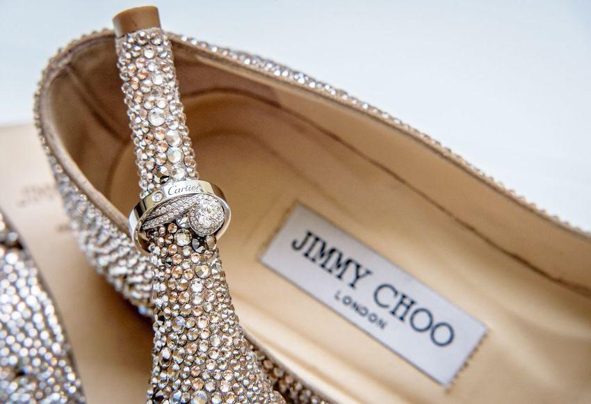 Wedding details Cartier Weddingrings Jimmychoo Weddingshoes Weddingdetails