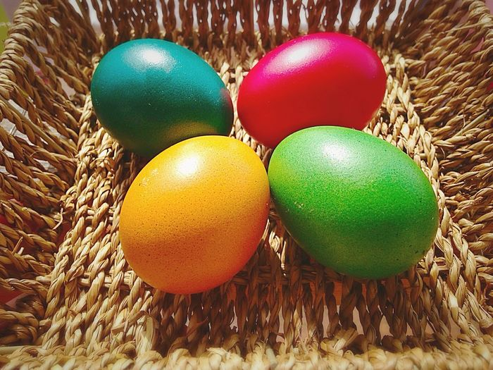 Easter Eggs Easter Easter Ready Colors Painted Easter Egg Egg Eggs Bowl Bright Colors