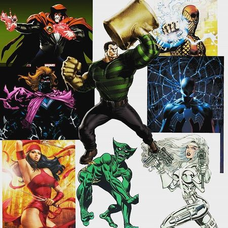 This isn't confirmed or anything don't wanna miss lead anyone haha but i Was tagged by @starxkiller_ to do a list of my Mydreammarvellegendswave and its gonna be a spiderman wave! 1) The hood 2) kaine (Scarlet spider) 3) Elektra 4)the Jackal 5) Shocker 6) Symbiote Spiderman 7) Silver sable 8) Baf Sandman Hasbro Actionfigures Marvellegends Wishlist Toycommunity Toysaremydrugs Toysarehellasick Toystagram Toyslagram Baf Spiderman Toycollector Toycreativity