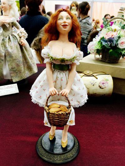 Art Выставка кукол.