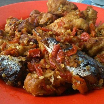 This is it Sambel Tahu Pedas Manis By chef Daniel Menu Berbuka Puasa Spicy simple menu