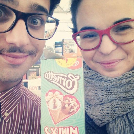 Cornetto mini love <3 Cornettomini Algida Mattinaconilsole Amoreamoreamore