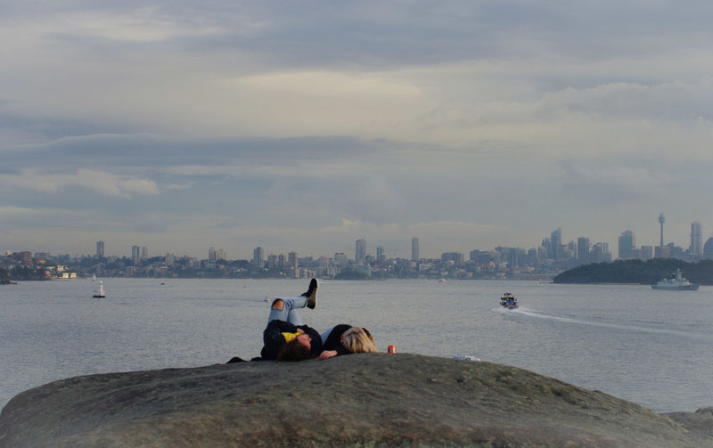 The Great Outdoors - 2017 EyeEm Awards Togetherness Two People Leisure Activity Architecture Outdoors Cityscape Beach Urban Skyline Sea