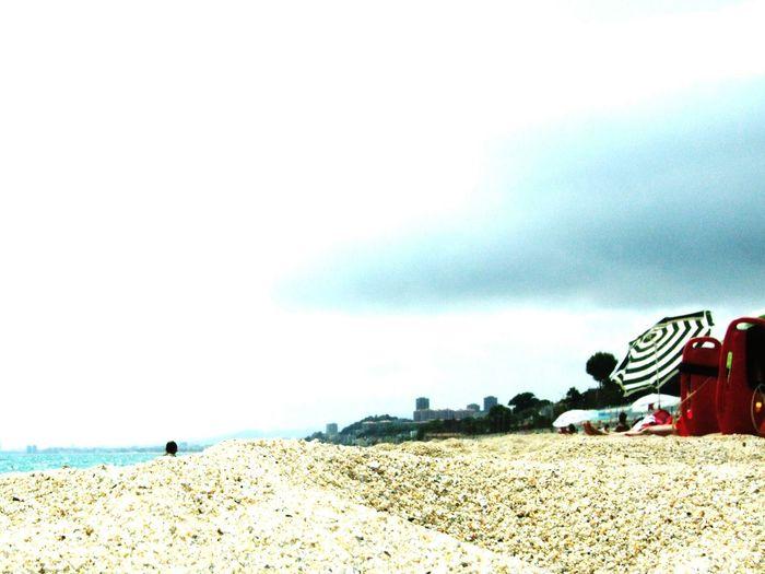 Sand Sky Beach
