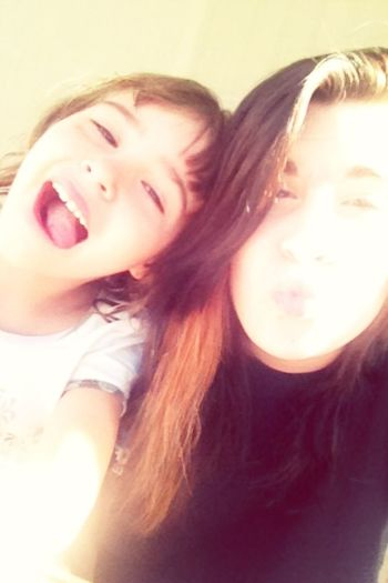 My Sister And I Are Cute K