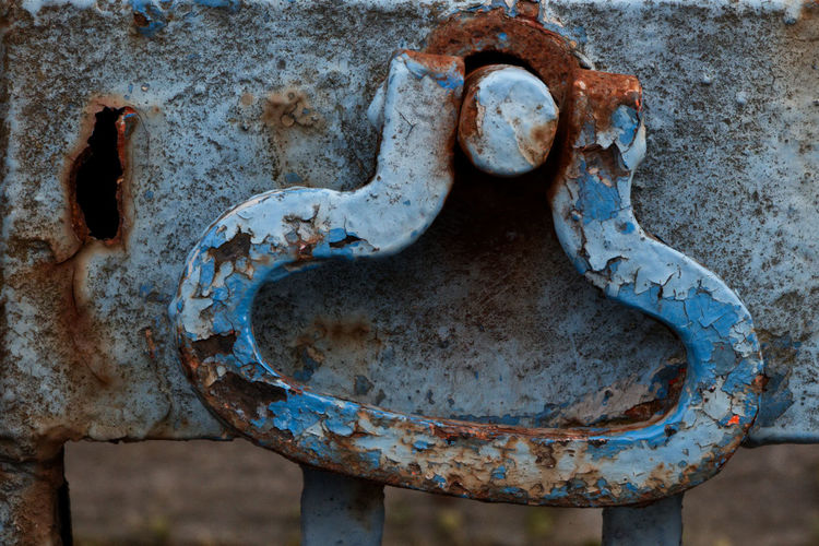 Metal Rusty Old Weathered Decline Painted Blue Paint Rural Scene Rusty Handle Rusted Gate Deterioration Damaged Abandoned Run-down Close-up Obsolete Bad Condition Handle Gate Handle Metal Metal Handle Rusted Metal  Blue Painted Surface Oxidation Weathered Grunge
