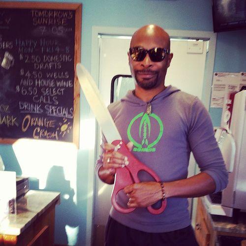 Still making cuts... Beachboxcafe VandyBeach BonitaChamberOfCommerce