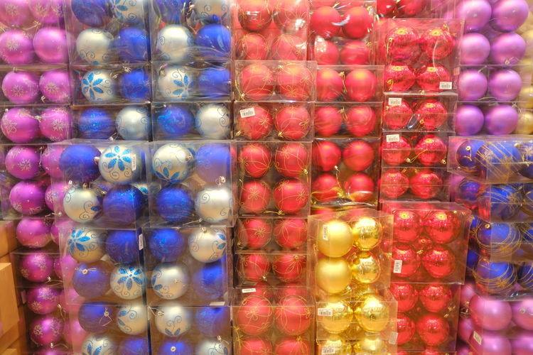 Full frame shot of multi colored glass for sale