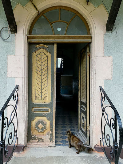 Entrance of a building