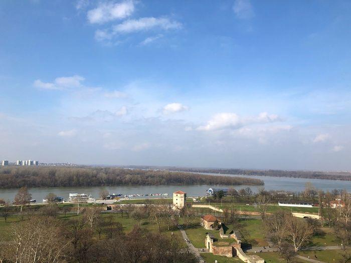Belgrade Sava Sava River Sky Cloud - Sky Day Outdoors Nature Water Beauty In Nature