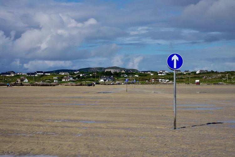 Which way to the beach? Bay Enjoying Life Solitude Ontheroad Ireland Connemara Lost