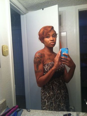 hair growing back fast give me a few months my iish will be long again....... blessed