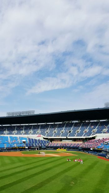 Seoul Baseball Stadium Sky Fall