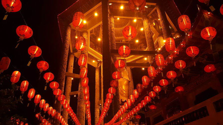 lantern Penang Kek Lok Si Guan Yin Statue Guan Yin Statue Lantern Guan Yin Statue Lighting Celebration Chinese Lantern Chinese Lantern Festival