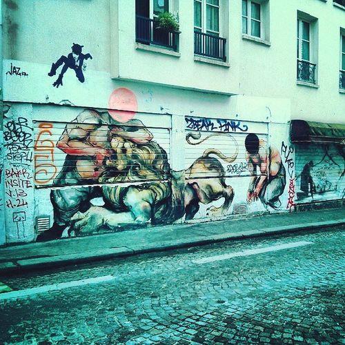 Streetart Belleville Paris