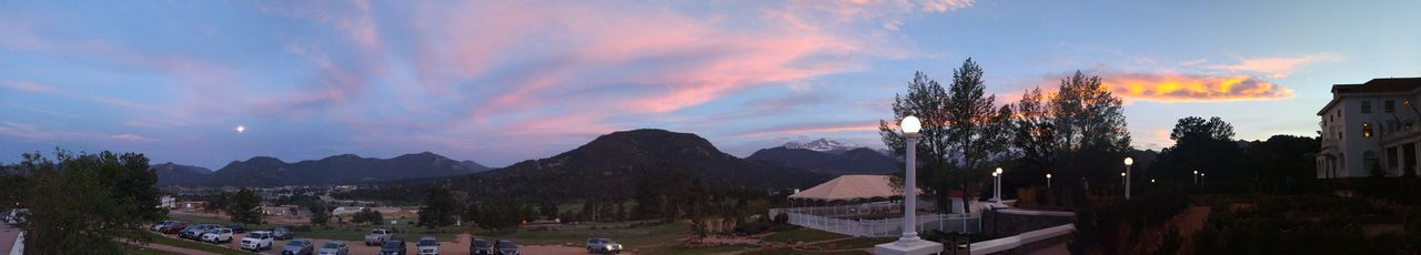 the shining Mountains Full Moon Cellphone Photography Inspiration No Filter Colorado Panoramic Sunset Travel Sunset Panoramic Sky