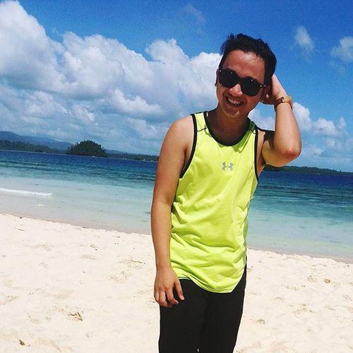 Enjoy yourself while you still can. 😄😃👍👌👌🏊🌅⛵ Wanderlust Surigao Britaniaislands